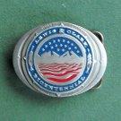 Lewis & Clark Bicentennial pewter belt buckle