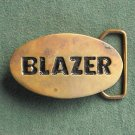 Blazer solid brass vintage belt buckle