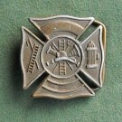 FD Fire Department vintage belt buckle