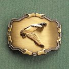 Paintree duck 3D vintage belt buckle