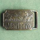 Vintage Marlboro Man brass belt buckle