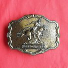 Vintage 1902 Pony Express belt buckle