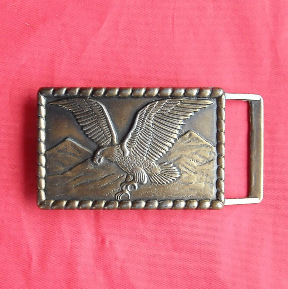Vintage Flying Eagle belt buckle