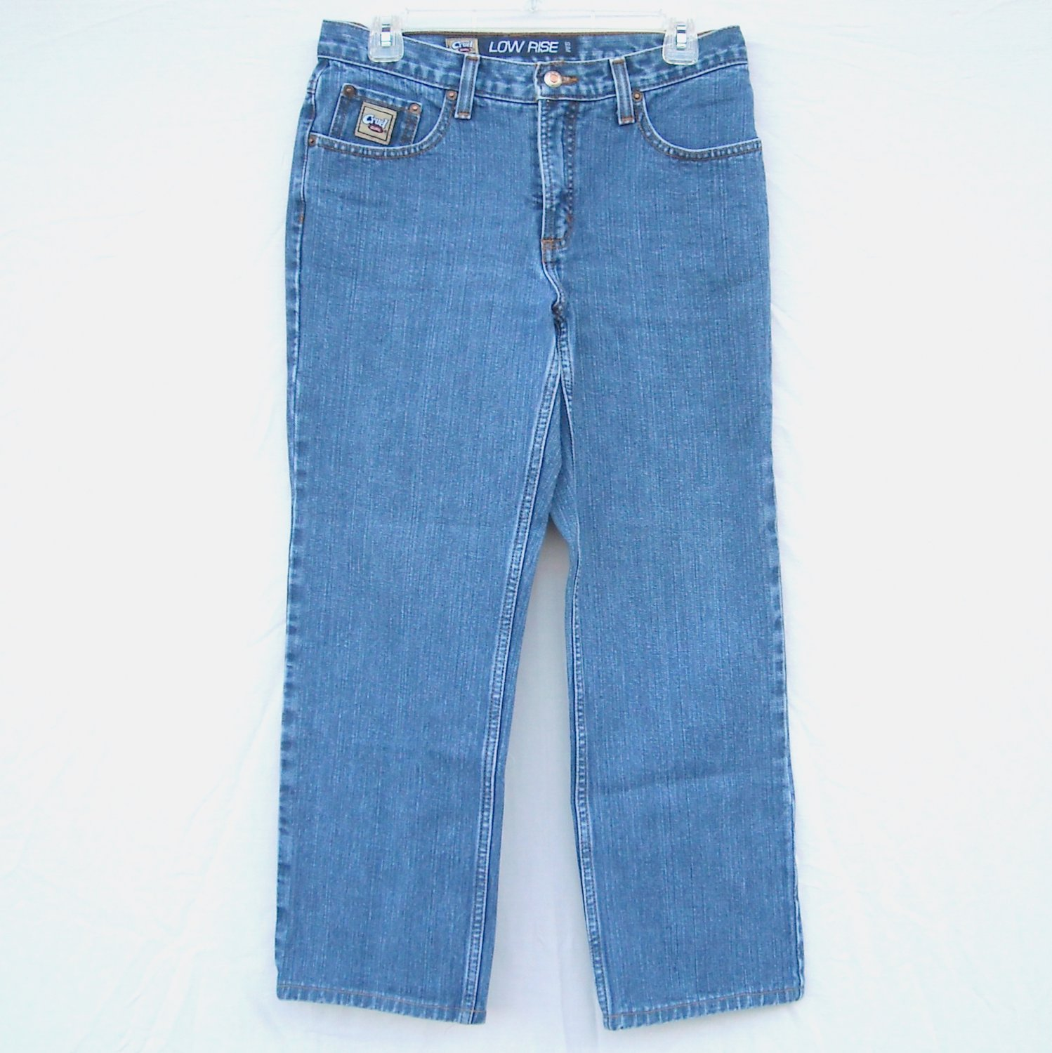 Cruel Girl #3 Low Rise Slim Denim Jeans Juniors Size 9 Short