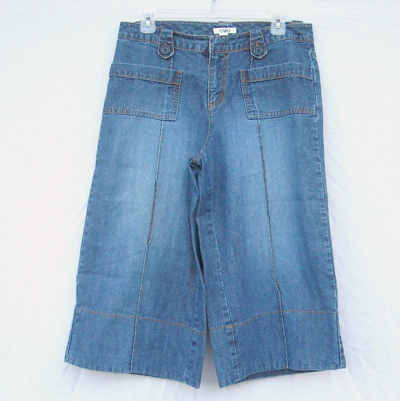 Cato Womens Denim Capri Jeans Size 10