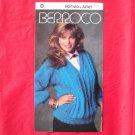 Vintage Berroco Romeo & Juliet Panel Pullover knitting pattern # 750