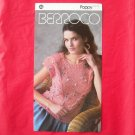 Vintage Berroco Poppy Traveling Cable Vest knitting pattern # 736