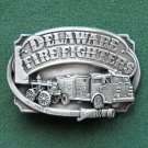 Delaware Fire Fighters Siskiyou belt buckle 1985