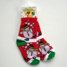 Funny Kids baby booties Snowman socks 1 - 3 years NWT