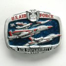 US Air Force Air Superiority USAF Mens Pewter Great American Belt Buckle