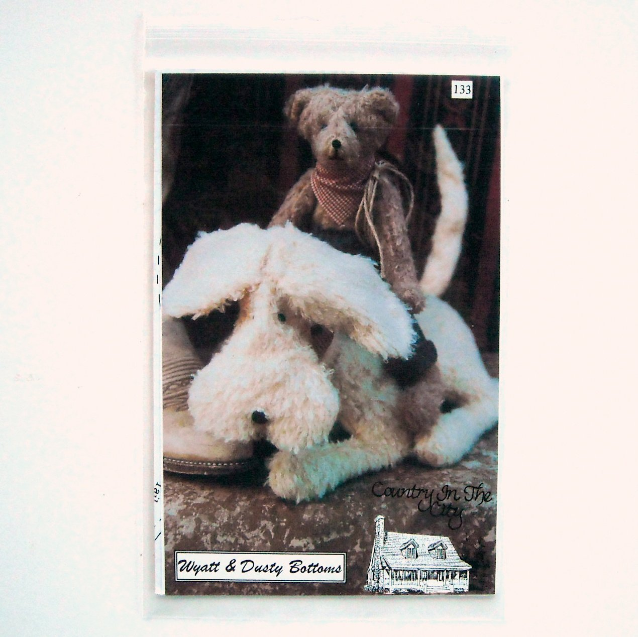 Country In The City Wyatt and Dusty Bottoms Doll Crafts Pattern No 133