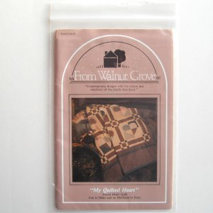 St. Nicole Designs My Quilted Heart Walnut Grove Crafts pattern #WG620