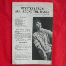 Vintage Sweaters from all around the world patterns