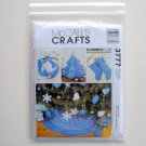 McCalls Crafts Christmas Decorating Ornaments Sewing Pattern M3777