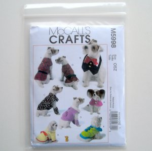 McCalls Crafts Doll Clothes Package Sewing Pattern #2869