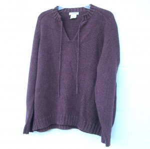 Great Northwest Womens Misses Knit 100% Cotton Sweater Size 1X