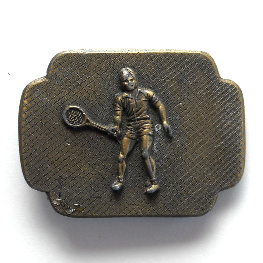 Vintage Davis Cup Winners Buttler Brass Alloy belt buckle