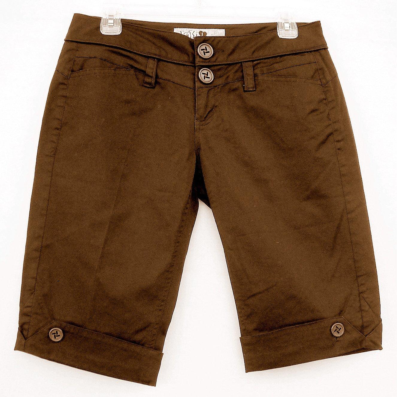 Jolt Misses Juniors Brown Shorts Size 5