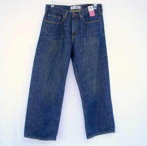 Levi Strauss Levis 569 Loose Straight Blue Denim Jeans Size 16 H