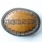 Bernie Vintage Leather Belt Buckle