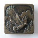 Northwest American Eagle Solid Brass J&A Washington belt buckle
