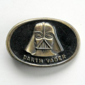 Darth Vader 20th Century Fox Film Brass Color Metal Alloy belt buckle