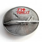 Tomcat F 14 3D Siskiyou Pewter Metal Alloy belt buckle