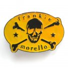 Frankie Morello Skull Cross Bones Metal Alloy belt buckle