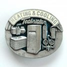 Heating Cooling Technician Pewter metal alloy Siskiyou belt buckle