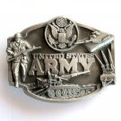 United States Army 3D 1987 Siskiyou Pewter alloy belt buckle