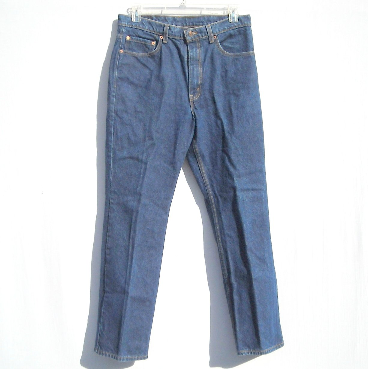 Levi Strauss 517 Boot Cut Blue Jeans Size 35 X 32