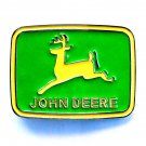 John Deere Logo Chrome Epoxy Belt Buckle