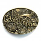 State Of California Award Design First Edition brass used belt buckle