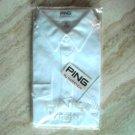 Ping By Karsten White Shirt 100% Cotton Size L
