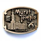 Murat Temple Shriners Masonic Award Design Solid brass belt buckle