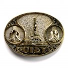 Kansas OILY Award Design solid brass used belt buckle