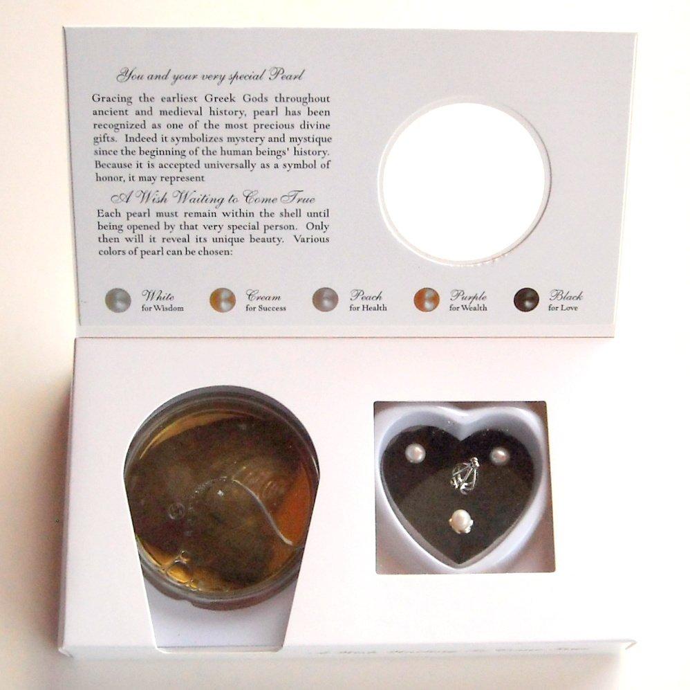 Dong Hui Natural Freshwater Pearl Make A Wish White Gift Set
