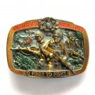 United States Marine Corps USMC First To Fight Vintage Great American belt buckle