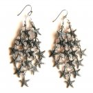 Lucky Brand Starfish Chandelier Dangle Drop earrings