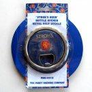 Stroh's Beer Pabst Bottle Opener Metal 3e Belt Buckle