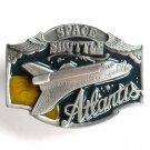 Space Shuttle Atlantis Vintage Arroyo Grande Pewter Belt Buckle