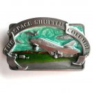 Space Shuttle Columbia Vintage Bergamot Pewter Belt Buckle
