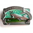 Space Shuttle Columbia Vintage Bergamot Pewter Belt Buckle