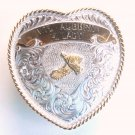 Trophy Buckle Skeet Shooting Auburn Montana Silversmiths belt buckle