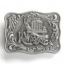 Kenworth K Whopper Bergamot Pewter used belt buckle