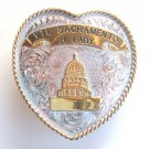 Sacramento Skeet Shooting Trophy Buckle Montana Silversmiths P600 belt buckle