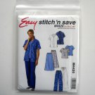 McCalls Sewing Pattern M4420 Size 14 - 20 Easy Scrubs Shirt Top Skirt Pants