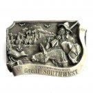 Great Southwest 3D Limited Edition 1985 Arroyo Grande Belt Buckle