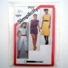 Simplicity Sewing Pattern 5922 Size 12 - 16 Misses Jumpsuit Romper Dress