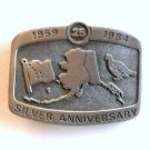 Alaska Silver Anniversary 1984 Limited No 1684 Belt Buckle